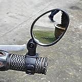 Hrph Universal-Lenkerinnenspiegel 360 Grad drehen Bike MTB Fahrrad