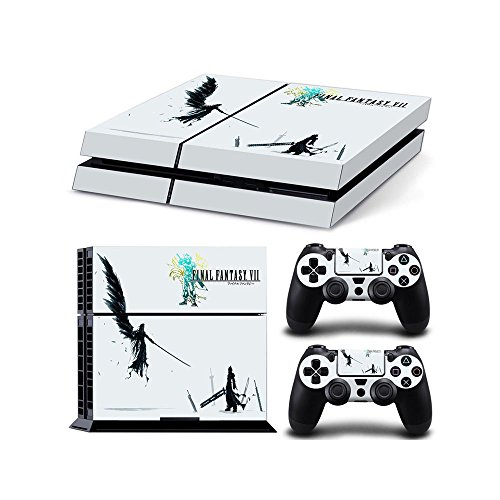 Playstation 4 Schutzfolie / Sticker Set Final Fantasy 7 Style 2 - Fantasy Final Playstation 2