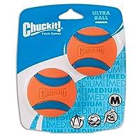 تشاكيت! كرة ألترا، حجم متوسط (6.35 سم) عبوتان