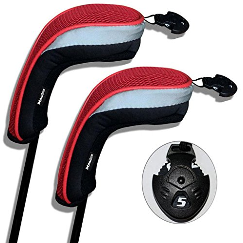 Andux coprimazza da golf per ibridi 2pcs/set