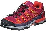 Salomon Unisex Kids' X-Ultra GTX J Low Rise Hiking Boots, Red
