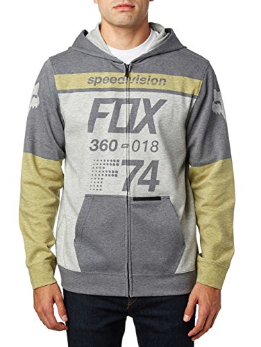 Fox Fleece Zip-Hoody Draftr Schwarz Blau
