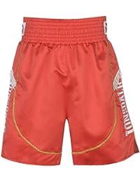 Lonsdale Hombre Pro Fight Boxing Pantalones Cortos Shorts De Boxeo