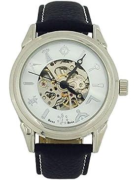 Time Accessories m4102.03Uhr für Männer, Lederband schwarz