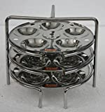 FERUM BABY IDLY STAND 3 PLATES (6X3) PLA...
