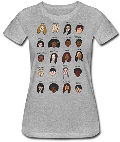 Character Names Camiseta para Mujer Medium