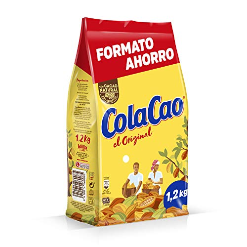 ColaCao Original, Cacao Soluble - EcoBolsa 1200g