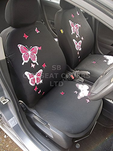 to fit a Citroen C1, coprisedili per auto, ROSSINI Pink Butterfly set
