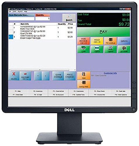 Dell E1715S 43,2 cm (17 Zoll) LCD-Monitor (VGA, 5ms Reaktionszeit) schwarz