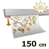 hang-it Klemmleiste Klemmschiene aus Aluminium - 150 cm - zur Präsentation von Fotos, Bildern, Postkarten