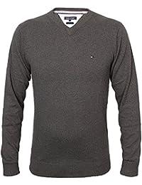 Tommy Hilfiger Herren Vneck Pullover CLASSIC HTR V-NK CF