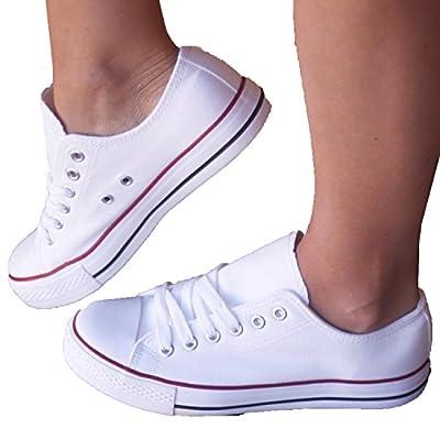 Zapatillas Blancas - Estilo Casual y Deportivo