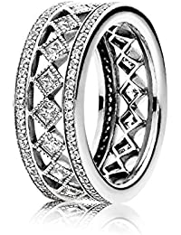 Pandora Ring-52 Female Fascination 191007CZ Vintage