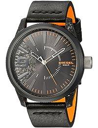 8784e2d1cbd2 Diesel Reloj Analogico para Hombre de Cuarzo con Correa en Cuero DZ1845