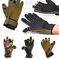 Saniswink Stylish Warm Outdoor Sports Gloves Fashion Men Camouflage Full Finger Warm for Cycling Shooting Hunting