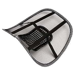 vwh massage lordosenst tze r ckenst tze r ckenkissen f r autositz oder b rostuhl. Black Bedroom Furniture Sets. Home Design Ideas