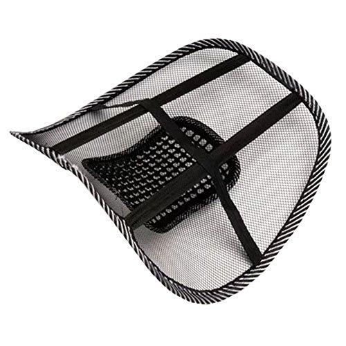 VWH Massage Lordosenstütze Rückenstütze Rückenkissen für Autositz oder Bürostuhl