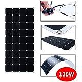 SUNKINGDOM 120W Sunpower Semi Flexible Solar Panel Biegsame Solar Ladegerät (120W)