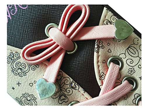 Ghlee - Borsa a tracolla donna Pink