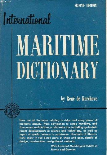 International Maritime Dictionary by Rene De Kerchove (1961-12-01)