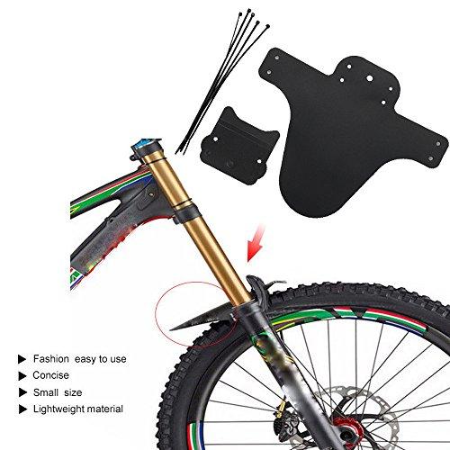 �Paar leichteste Fahrrad MTB Mud Guards Tire Reifen Schutzblech für Bike Kotflügel ()