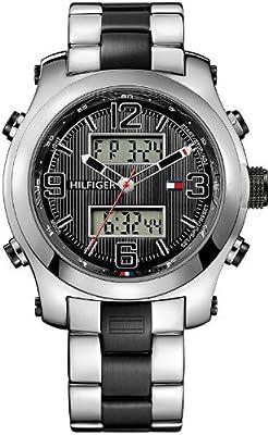 Tommy Hilfiger 1790949 - Reloj de pulsera hombre, acero inoxidable, color multicolor