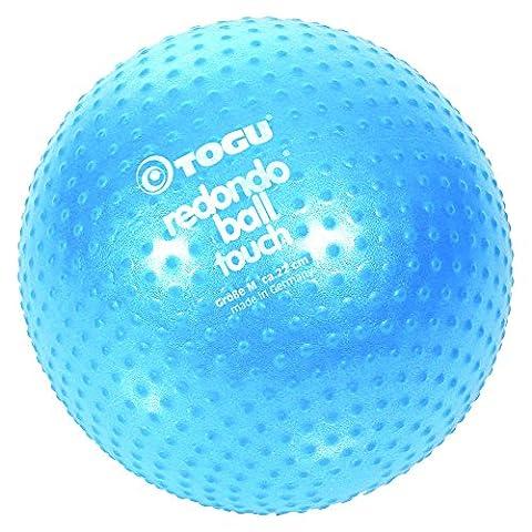 Togu Redondo Ball Touch Gymnastik und Pilatesball, blau, 22 cm (Pilates Ball)