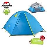 3 Kit Personen-Zelt Outdoor-Camping-Zelt 190T Gewebe-wasserdicht NH16S00-S