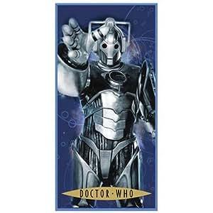 Zap Dr Who Cyberman Printed Towel