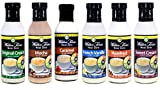 Walden Farms Coffee Creamer Bundle(French Vanilla,Hazelnut,Sweet Cream,Moch,Original and Caramel)