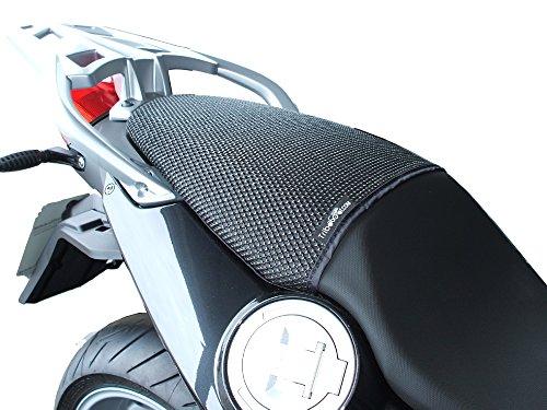 BMW F800GT (2013–2018) triboseat sillín pasajero antideslizante Negro