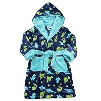 Minikidz Boys Dinosaur Print Fleece Dressing Gown (2-3 Years)