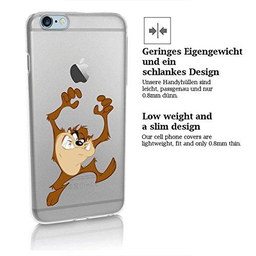 Custodia rigida looney tunes taz serie 2 iPhone - TAZ Aggressivo, Iphone 5/5S TAZ Attack