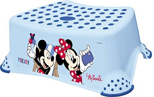 """'keeeper 1843161414100Tomek """"Mickey tritthocker avec fonction antidérapants, Light Bleu"""