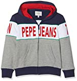 Pepe Jeans Teo PB581066 Sweat-Shirt, Multicolore (Multi Bleu 0aa), 4-5 Ans (Taille Fabricant:104/4 Years) Garçon