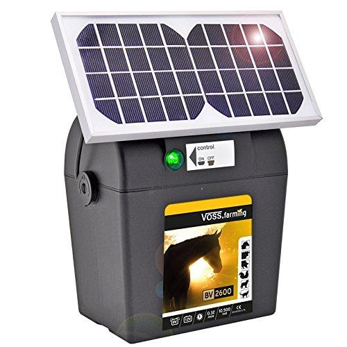 *9V Batteriegerät Solar Modul Solar-Zelle Elektrozaun Weidezaun Schlaggerät*