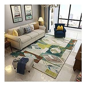 GOMAR Moquette di Grande Area tappeti di Spessore Antiscivolo e Durevole buona qualità Arte di Lusso Soggiorno intensivo,2,200cm×300cm