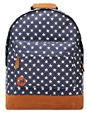 Mi-Pac Backpack All Stars | Quality Water Resistant Rucksack - Ideal School Bag, Travel Daypack Or Laptop Bag for Boys & Girls - Men & Women - 17L Navy