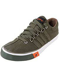 Sparx Men's SC0162G Series Olive Green Canvas Casual Shoes