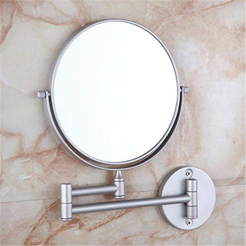 WanJiaMen\'Shop Badezimmer kosmetikspiegel doppelwand klappspiegel Badezimmer teleskopspiegel voll Messing kommode Spiegel schönheit Spiegel, C