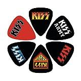 Kiss Rock Logos Plettro di chitarra ufficiale