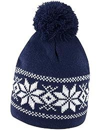 Cappellino da Sci con PON PON Cappello Invernale in Maglia Berretto Caldo da  Montagna 124a9fbeb892