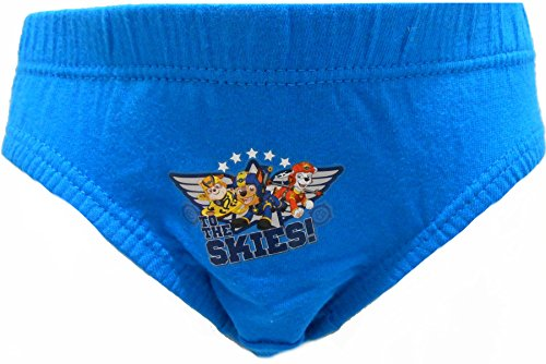 Paw Patrol Boys 100% Cotton 6er Pack Slip Unterhose 1 - 5 Jahre Mehrfarbig