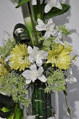 , groß, grüne Gerbera-Blumen Calla-Lilien/Kunstblumen Anthurium Blumenarrangements