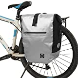 19L Alforjas para bicicleta,Bolsas para sillines,Impermeable,Beatie Alforjas para portaequipajes de bicicleta,0.96kg
