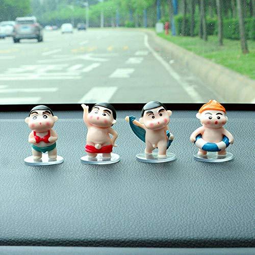 GBYJDekorationKreative Auto liefert Männer und Frauen Persönlichkeit Buntstifte kleine Neuwagen Dekoration Auto auf dem Auto Schmuck Ornamente High-End