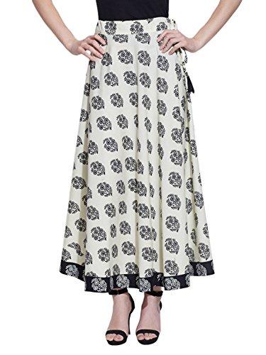 Maxi Rock Lang Knöchel Länge Zigeuner Baumwolle Kleid Sommer Color13