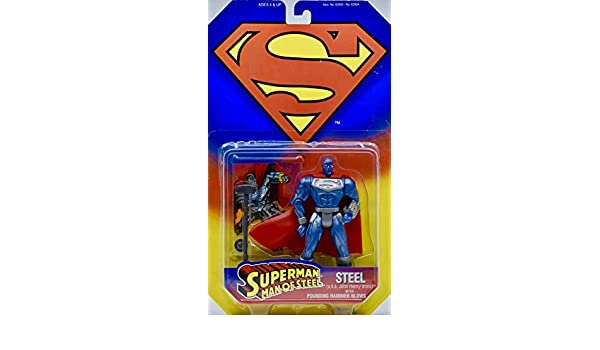 Superman Man of Steel Steel Aka John Henry Irons with