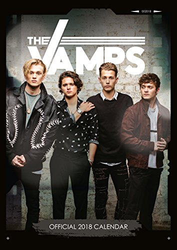 The Vamps Official 2018 Calendar - A3 Po...