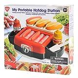 Playgo mobiler Hotdog Stand Hot Dog Bräter für Spielküche Kaufladen    Möchte jemand Hotdogs? Bereite Leckere Hotdogs mit deinem eigenen tragbaren Hotdog-Stand zu, ob in der Spielküche oder im Kaufladen, Hot Dogs sind immer ein Hit. Mit Realistisc...